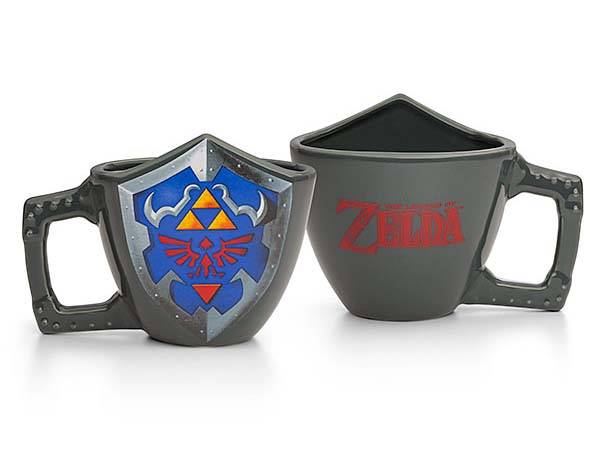 The Legend of Zelda Hylian Shield Mug