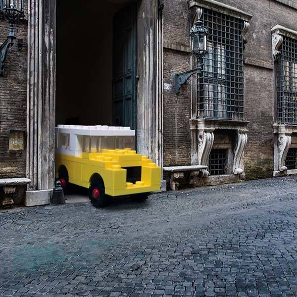 The Life-Sized LEGO Vehicles in Real World