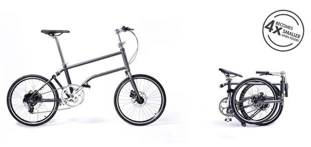 Vello Bike+ Self-Charging Folding Electric Bike
