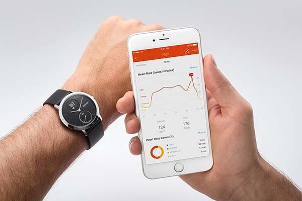 Withings Steel HR Smartwatch with Heart Rate Monitor