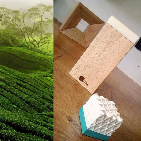 42tea App-Enabled Smart Cube for Brewing Perfect Tea