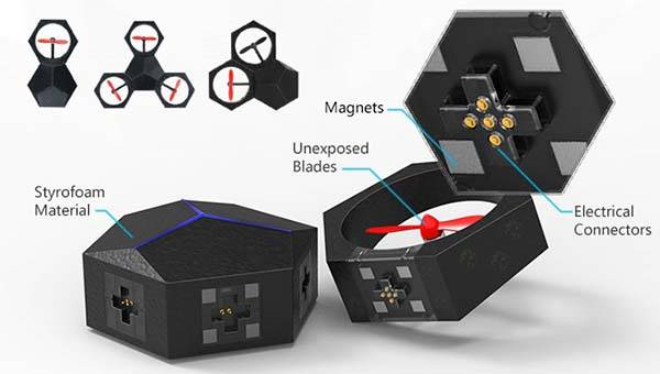 Airblock Programmable Modular Flying Drone