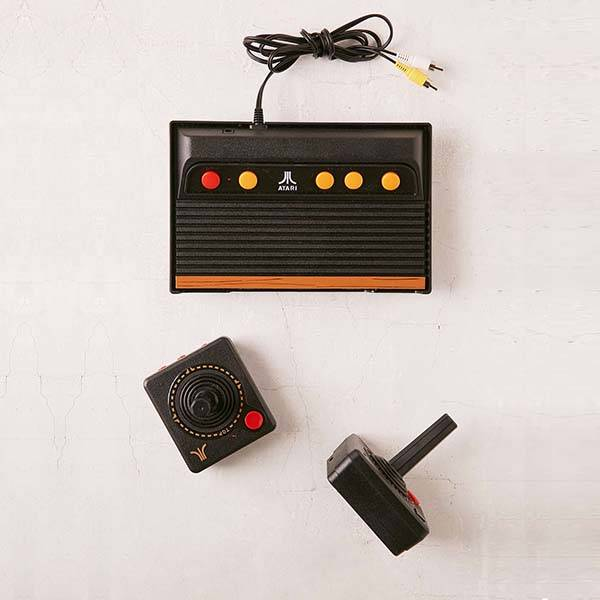 Atari Flashback 7 Retro Game Console with Wireless Controllers