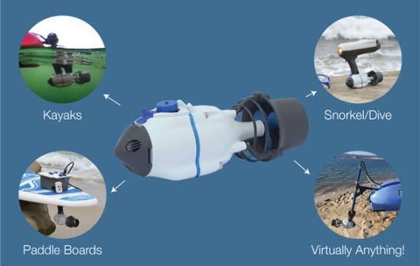 Bixpy Jet Portable Modular Electric Water Jet Propulsion System