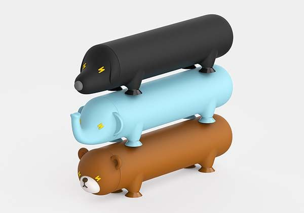 Energy Pet Power Bank Inspired By Cute Animals Gadgetsin