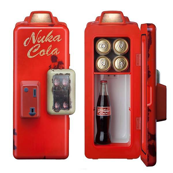 Fallout 4 Nuka Cola Machine Mini Fridge Gadgetsin