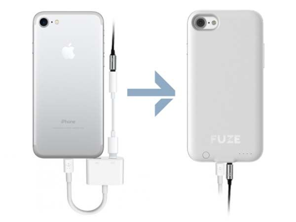 Fuze iPhone 7 Battery Case with Audio Jack