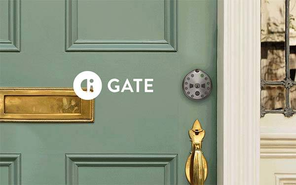 Gate Smart Lock with Motion Activated Camera and 2-Way Audio