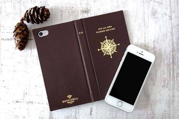 Handmade Vintage Book Styled iPhone 7 Leather Case