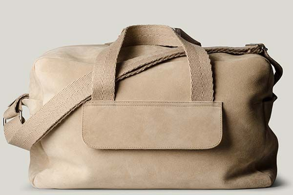Hard Graft Volume One Monotone Holdall Leather Bag