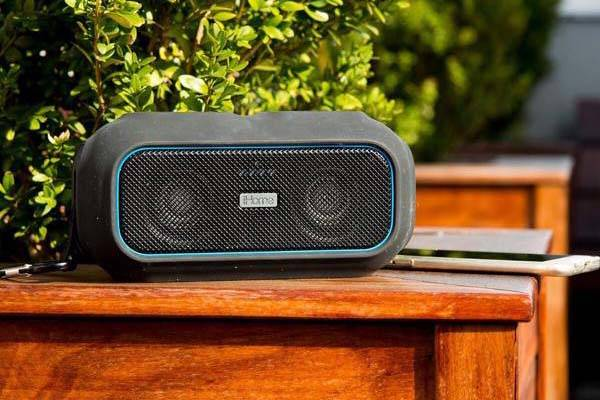iHome iBT9 Portable Waterproof Bluetooth Speaker