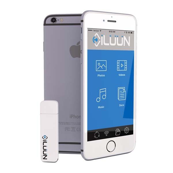 iLuun Air Wireless USB Flash Drive