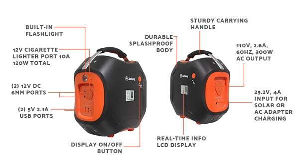 Jackery Power Pro Portable Battery Generator