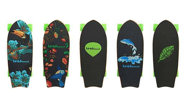 Leafboard Lightweight and Compact Electric Skateboard