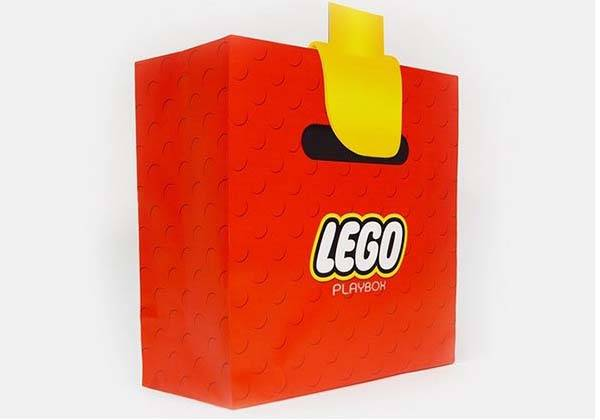 lego playbox bag inspired by minifigure