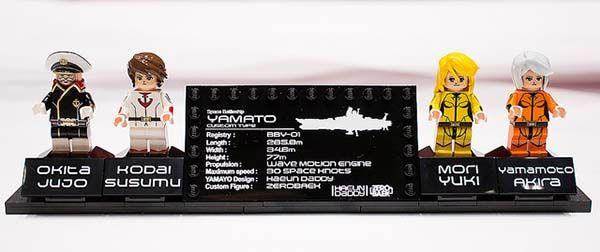 LEGO Space Battleship Yamato