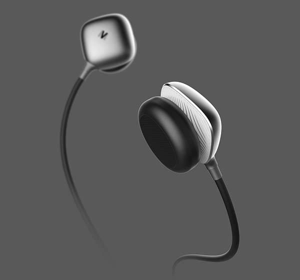 Mersiv Wearable Language Learning Device with Camera and Earbuds