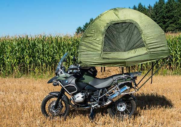 Mobed Compact Tent Fits On Your Motorcycle Gadgetsin