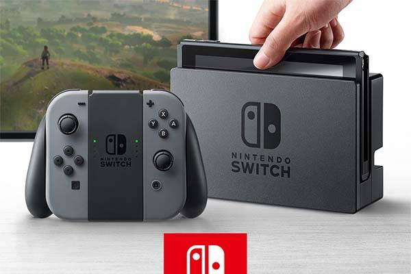 Nintendo Switch Hybrid Home and Handheld Game Console