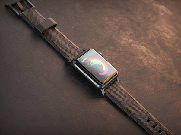 NOMAD Silicone Apple Watch Band