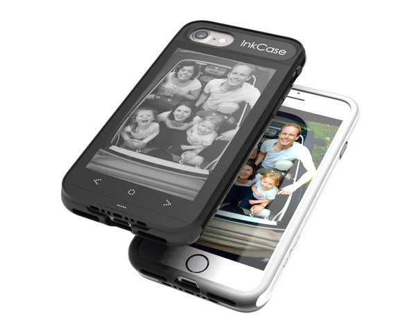 Oaxis InkCase i7 iPhone 7 Case with E-ink Display