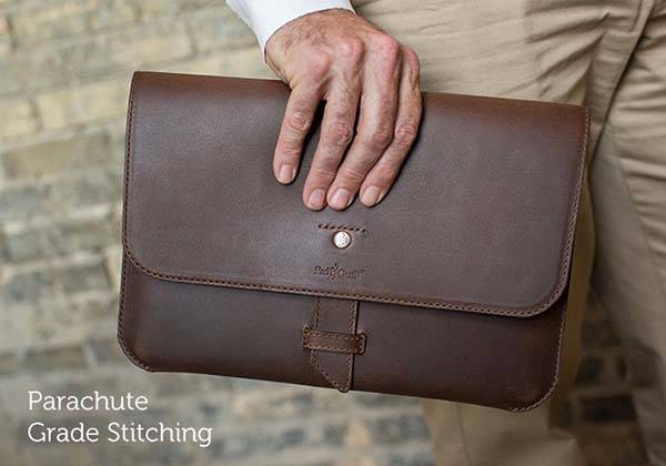 Pad&Quill Valet Slim Portfolio iPad Pro Leather Case