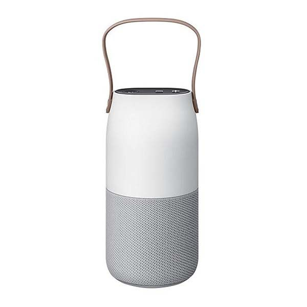 Samsung Bottle Design Bluetooth Speaker with LED Lamp