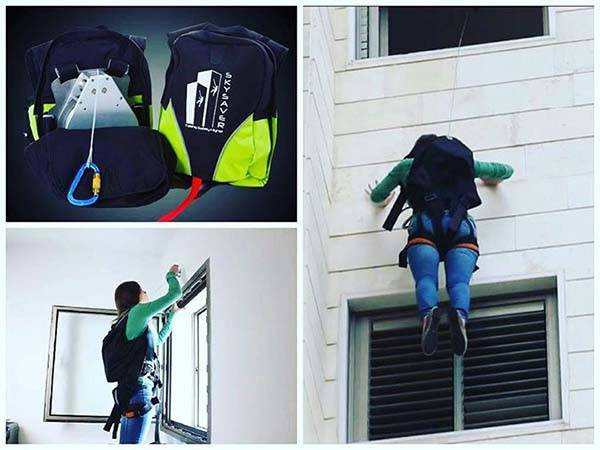 SkySaver Rescue Backpack Helps You Survive High Building Fires