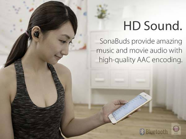 SonaBuds Ultra Compact Wireless Earbuds