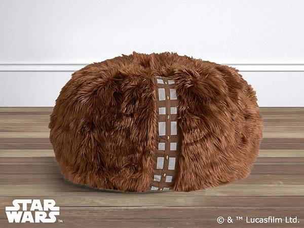 Star Wars Chewbacca Furry Bean Bag Chair