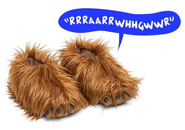 Star Wars Chewbacca Slippers With Sound Gadgetsin