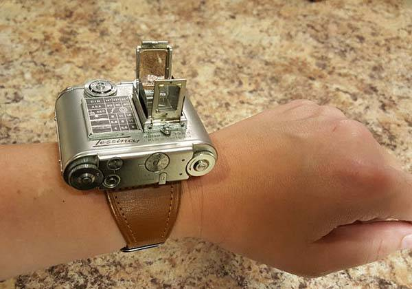 Backup Camera System >> Tessina Vintage Camera Can be Worn on Your Wrist | Gadgetsin