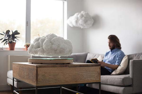 The Levitating Bluetooth Speaker Looks Like Floating Cloud
