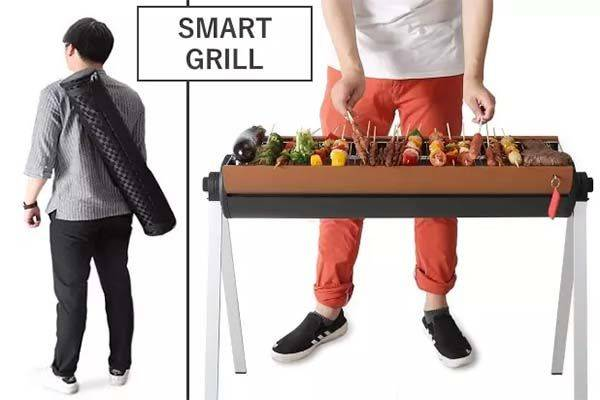 The Portable Smart BBQ Grill