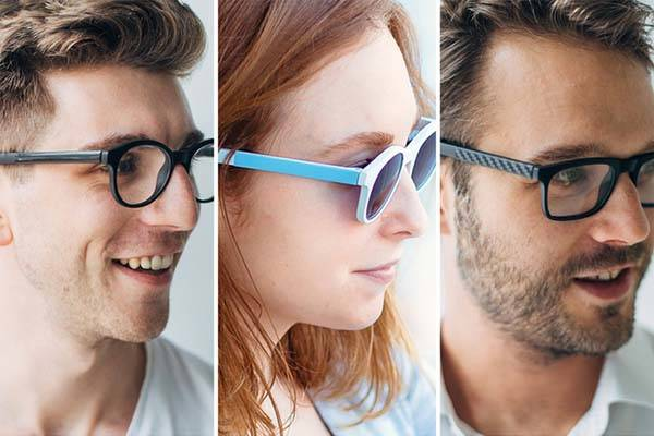 Vue Smart Glasses with Activity Tracker and Bone Conduction Audio