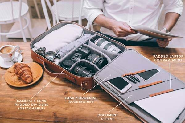 48Hr Switch Expandable Backpack Works as Messenger Bag or Briefcase