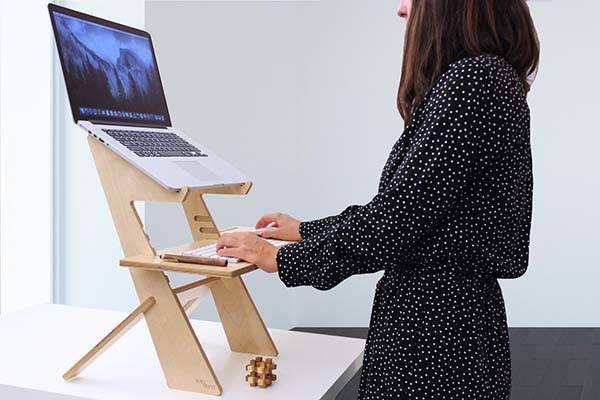 Handmade Wooden Standing Desk