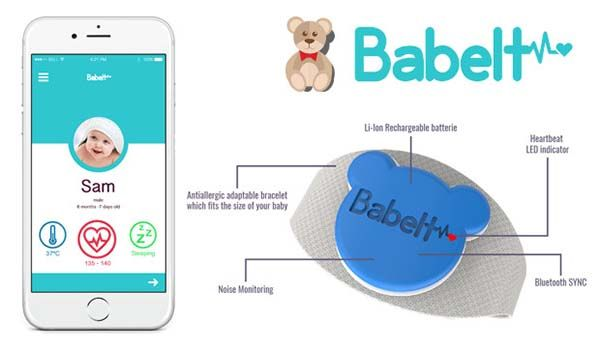 Babelt Smart Bracelet for Baby