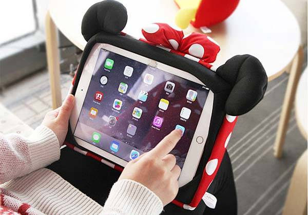 Disney Cartoon Character Pillow iPad Stand
