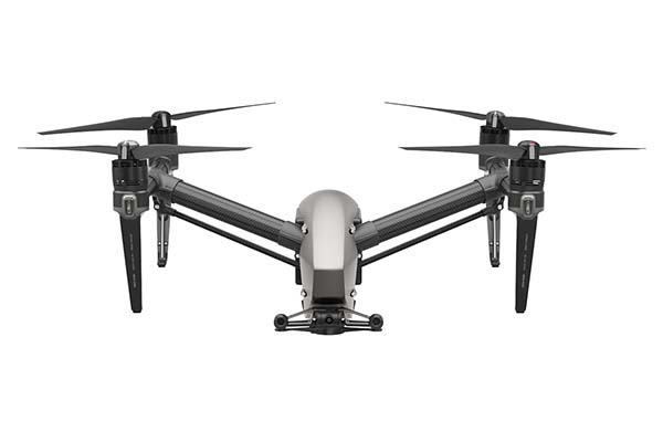 DJI Inspire 2 Flying Drone with Two Cameras