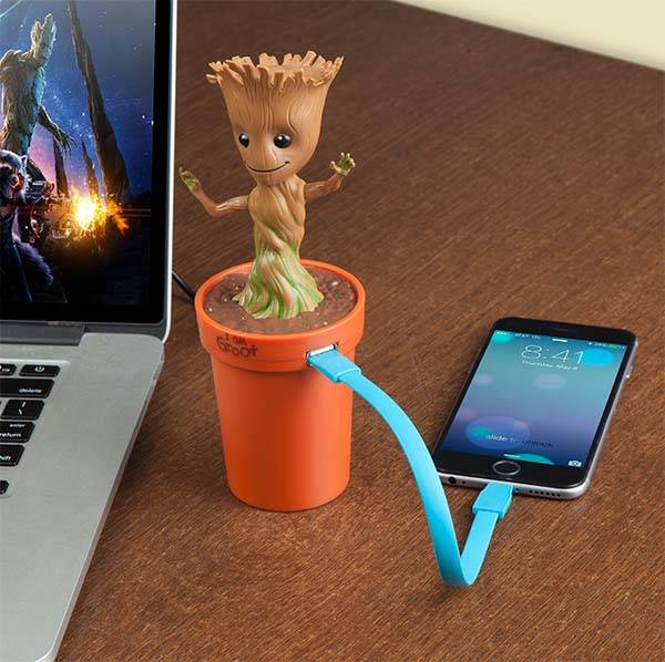 Marvel Guardian of the Galaxy Groot USB Car Charger