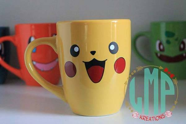 Handmade Pokemon Coffee Mug