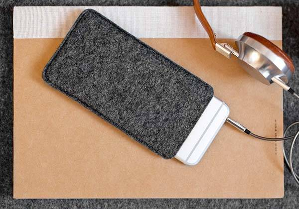 Handwers Handmade iPhone 7 Leather Sleeve