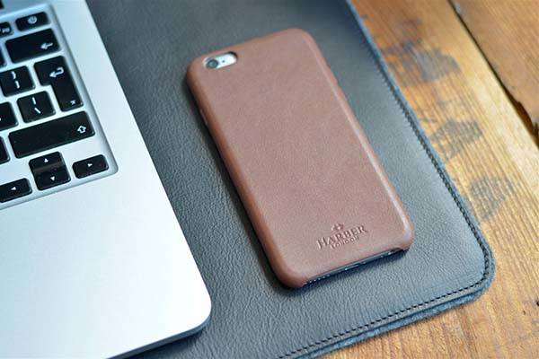 HarberLondon Handmade iPhone 7/7 Plus Leather Case