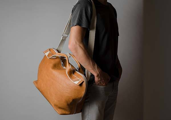 Hard Graft Volume Two Leather Shoulder Bag