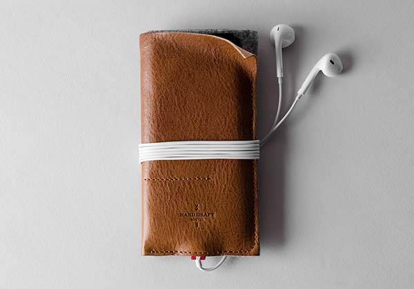 Hard Graft Wild iPhone 7 Leather Case