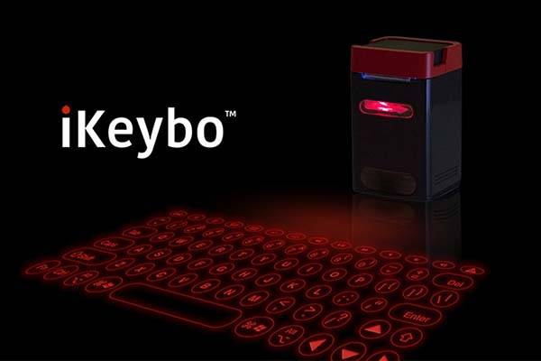 iKeybo Laser Projection Keyboard with Built-in Power Bank