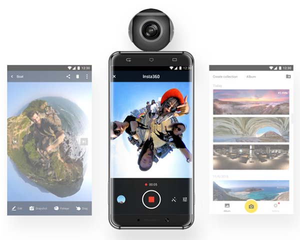 Insta360 Air VR Camera for Android Smartphones