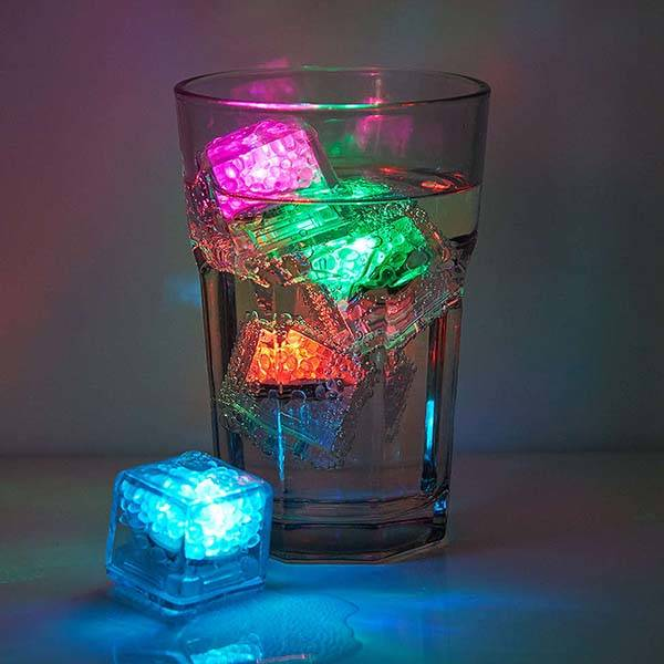 LED Color-Changing Ice Cube Set
