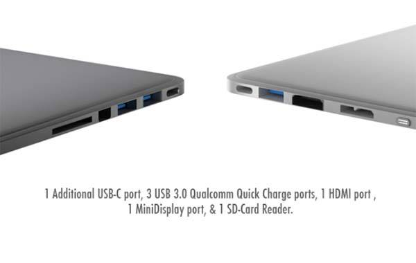 Line Dock Usb C Docking Station With Built In Power Bank